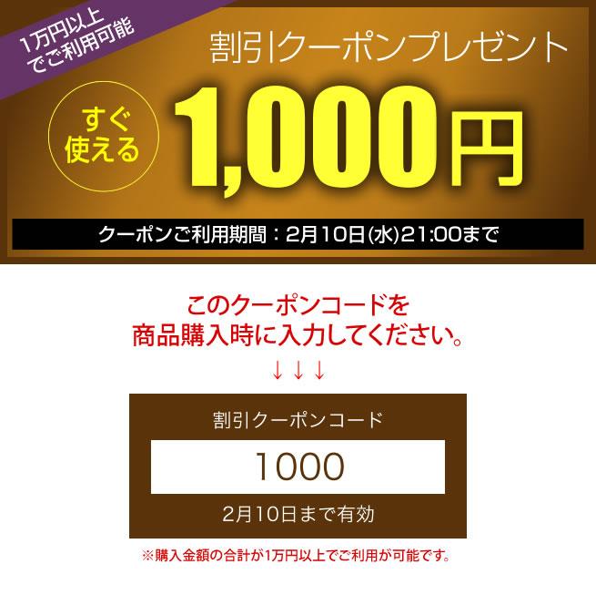 1000円クーポンキャンペーン